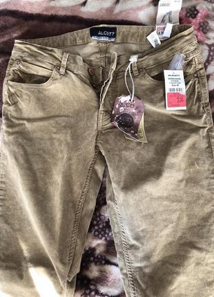 Вельветовые брюки alcott