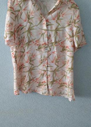 Блузка с принтом бамбук c&a