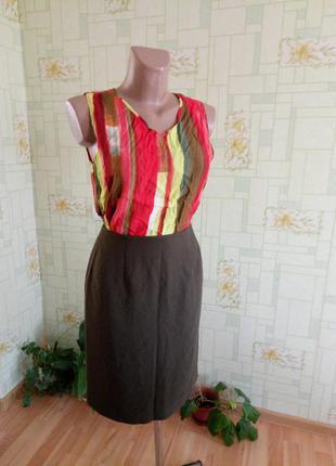 Классическая юбка миди