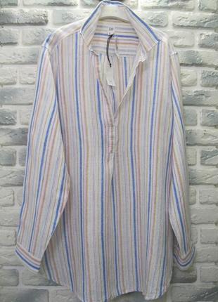 Женская рубашка лен gap / р.xl
