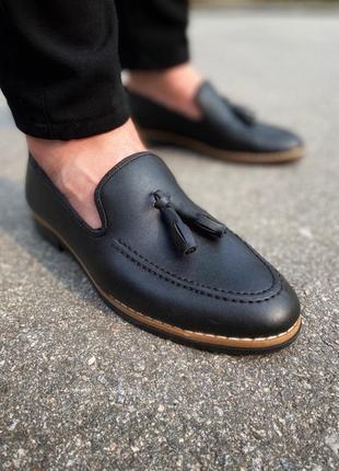 Туфли лофери кожа шкіра