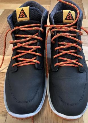 Nike acg lunar braata mid oms black/anthracite