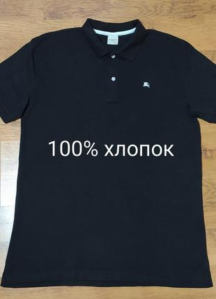 Burberry оригинал новая футболка типа поло  размер 3xl