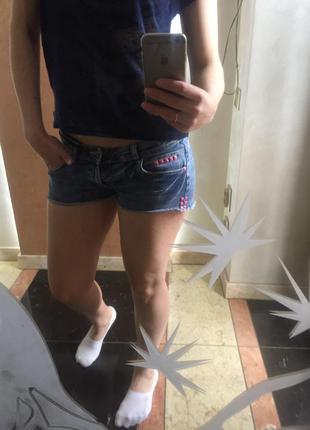 Шорти джинсові