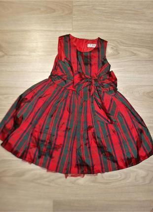 Нарядное платье некст на 2-3годика рост 98