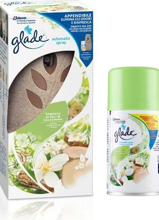 Glade сандал и жасмин автоматический освежитель воздуха