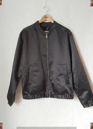 Фирменная h&m мега крутая мужская куртка/бомбер в сочном сером цвете, размер л-хл