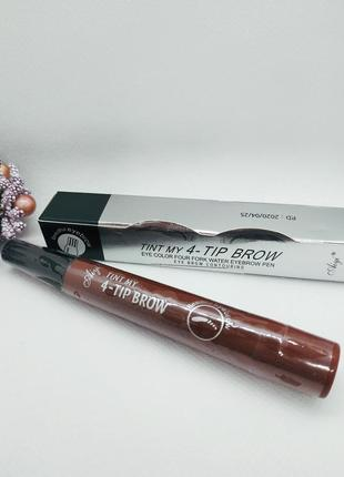 Маркер для бровей с эффектом микроблейдинга tint my 4 - tip brow #3