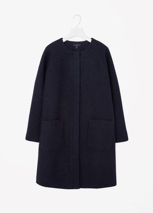 Пальто cos 100% шерсть
