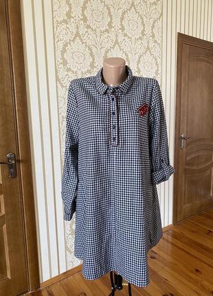 Zara тёплое стильное платье туника 👗
