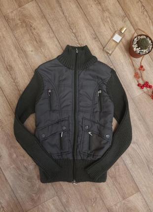 Вязаная курточка очень красивая🌸💯😍👍