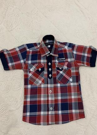 Рубашка tommy hilfiger, рост 86