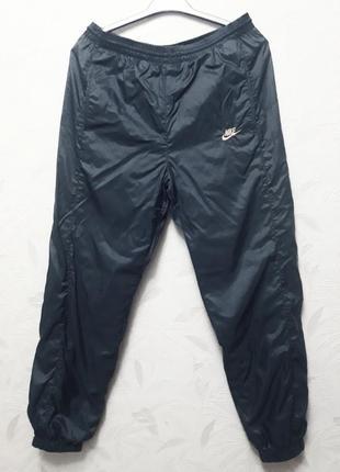Спортивные штаны на подкладке, 48-50, полиэстер, nike