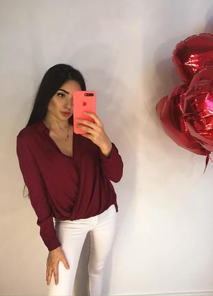 Очень приятная блуза bershka