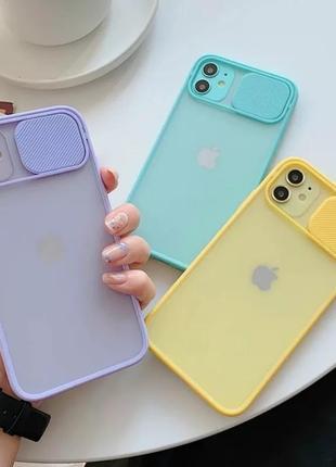 Самый популярный лиловый чехол на айфон 11 пластик силикон закрытая камера