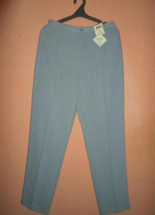 .легкие классические брюки со стрелкой и глубокой посадкой бренд bhs