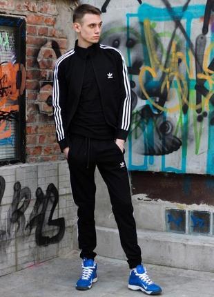Костюм adidas черный