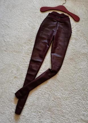 Esmara лосины легинсы кожаные