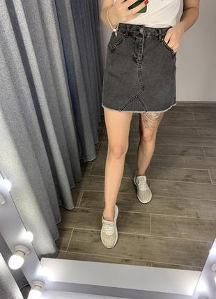 Джинсовая юбка miss selfridge