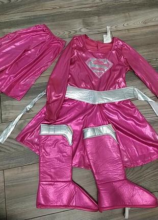 Новогодний, карнавальный костюм супердевочки