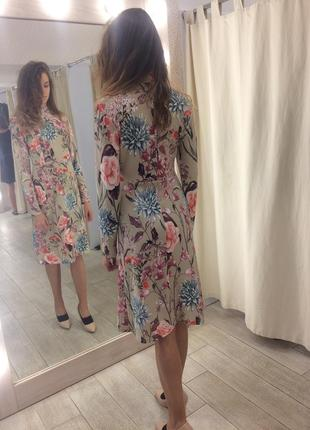 Платье с рукавом от vovk