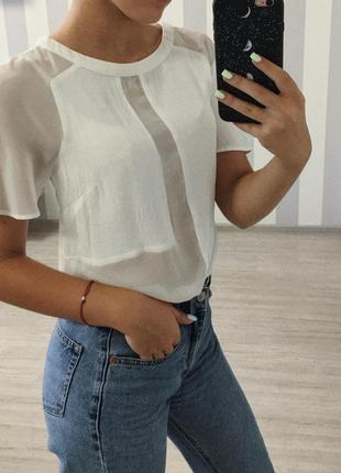 Блузка с коротким рукавом asos