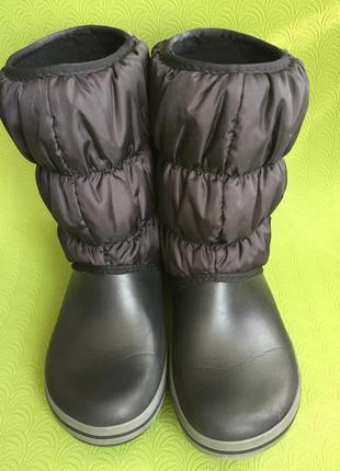 Сапоги crocs зимние непромокаемые