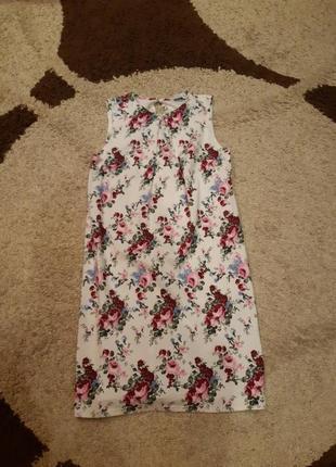 Льняное платье vovk