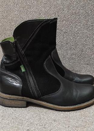 Ботинки сапожки р.39,ст 26см snipe демисезон натуральная кожа