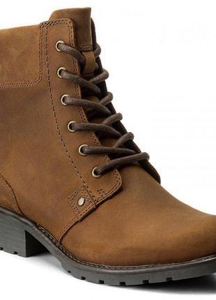 Ботинки кожаные clarks !