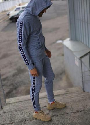 Спортивный костюм серый kappa