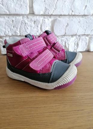 Демисезонные ботинки reima для девочки
