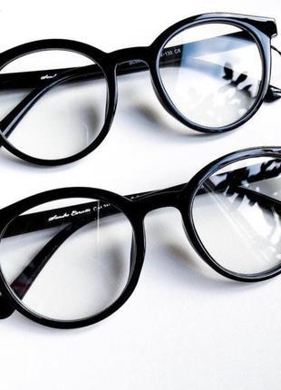 Прозрачные имиджевые очки кошачий глаз для имиджа, іміджеві окуляри для іміджу