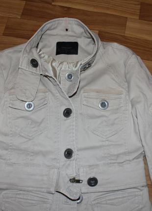 Классный котоновый пиджак