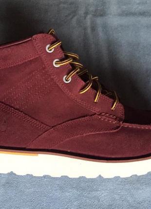 Бордовые ботинки nike