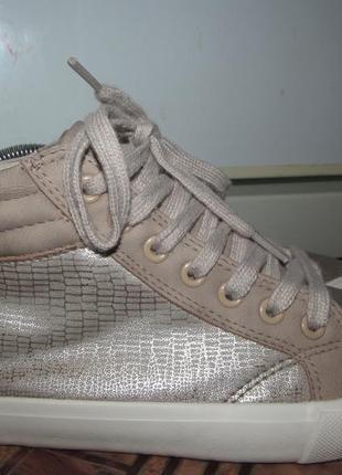 Брендовые гламурные кроссовки-хайтопы george