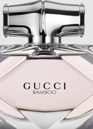 Gucci bamboo 50 мл тестер оригинал
