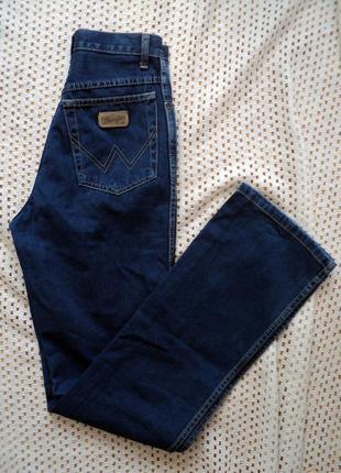 Легкие синие джинсы wrangler.турция. w26l32.100% хлопок, торг