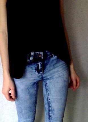 Крутые джинсы-скинни