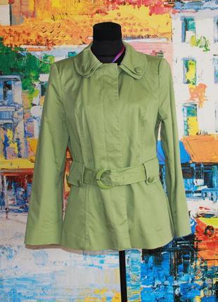 Куртка жакет тренч демисезонный 14 m l xl на подкладке marks spencer сток новый