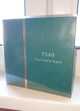 Tsar van cleef&arpels винтаж набор мужской парфюм и гель для душа