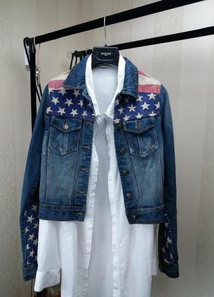 Куртка джинсовая!american style!куртка джинсова