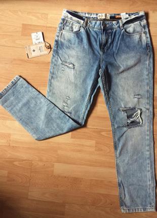 Абсолютно новые джинсы бойфренды