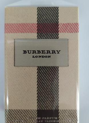 Burberry london женская парфюмированная вода 30мл