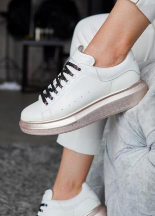 Alexandr mcqueen 🌸стильные женские кроссовки кеды 🌸