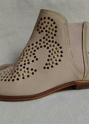 Брендовые натуральные ботиночки san marina