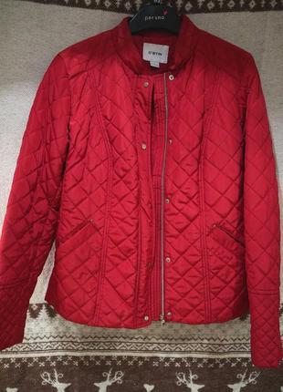 Куртка ostin, красная, демисезон, размер м