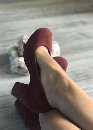 Туфли замшевые vagabond