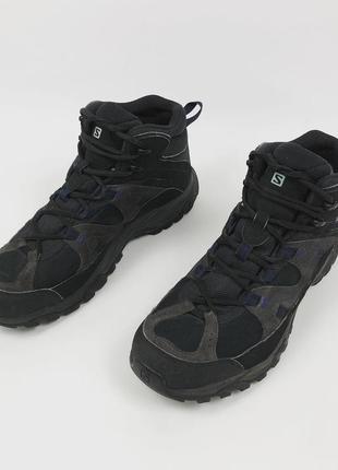 Водонепроницаемые трекинговые ботинки salomon технология gore-tex в стиле arcteryx