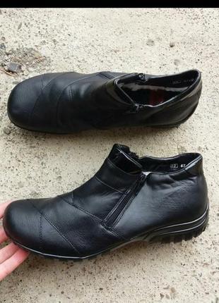 Зимние ботинки фирмы rieker
